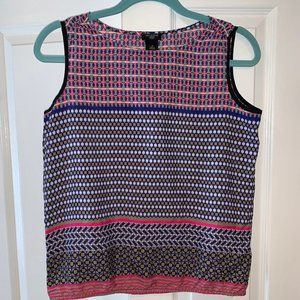 ANN TAYLOR PETITE SLEEVELESS TOP SIZE SMALL